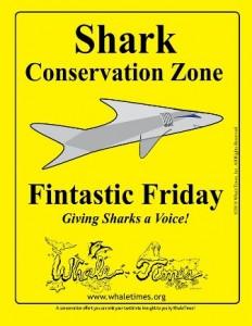CopyrightWhaleTimesShark Conservation Zone Poster no date WhaleTimes websm